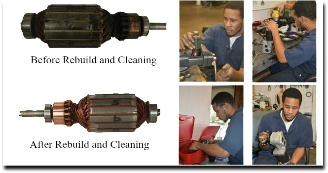 Electric wheelchair motor repair all motor rebuilds now for Who rebuilds electric motors